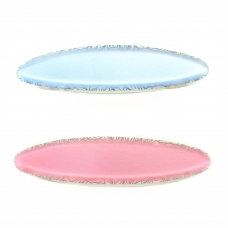 Oval Barrette ( Set of 2)