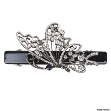 Sparkling Crystal Butterfly Barrette (Clip Paris)