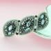 Vintage Style Crystal Beaded-Embellished Barrette