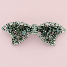 Crystal Bow Barrette