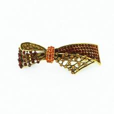 Shimmering Crystal Ribbon Barrette (Clip Paris)