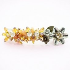 Handcraft Crystal Barrette (Clip Paris)