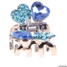 Sparkling Crystal Heart Mini Jaw