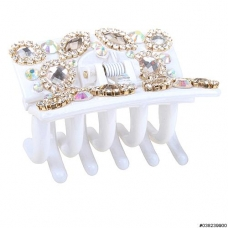 Luxury Crystal Jaw Clip