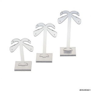 Small 3PCS Plastic Earring Display