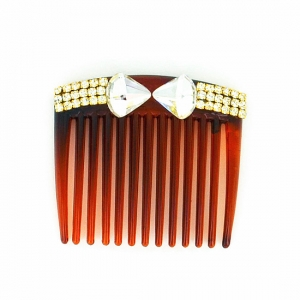 Sparkling Crystal Classic Haircomb