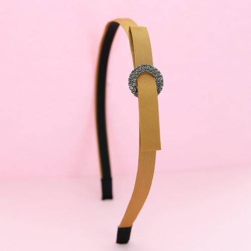 Crystal Deco Satin Headband