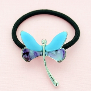 Dragonfly Ponytail Holder
