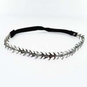 Stretch Crystal Feather Headwrap