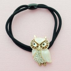 Owl Ponytail Holder