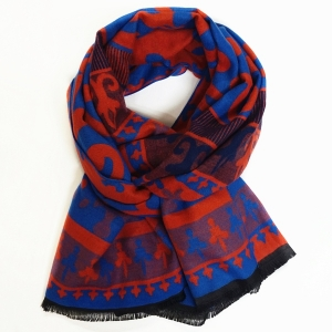 Reversible Mix Print Scarf