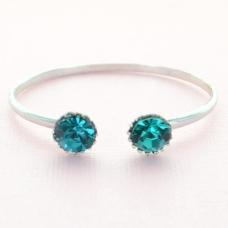 Crystal Open Cuff Bracelet