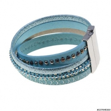 Studded Twist Magnetic Closure Bracelet