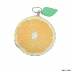 Fruit Collection Orange Change Purse