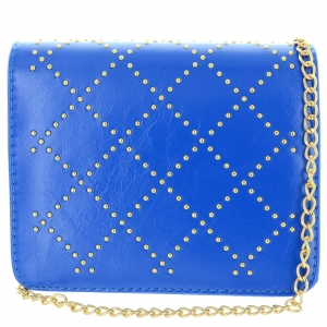 Faux Lether Studded Mini Crossbody Bag