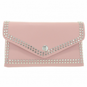 Studded Faux Leather Belt Bag