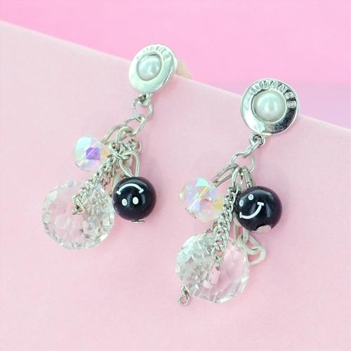 Crystal & Pearl Drop Earrings