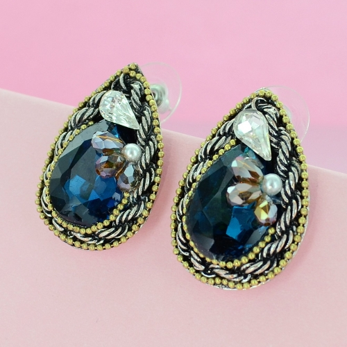 Vintage Spirit Crystal Earrings