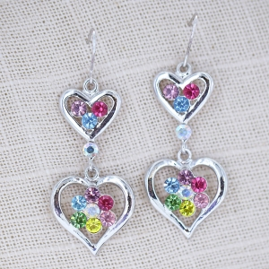 Fashion Drop Crystal Earring