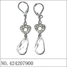 Earring(A), White