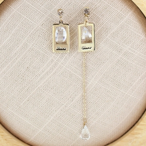 Fashion Crystal Drop Earring