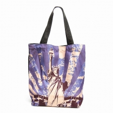 Mix Print Convenience Soft Tote