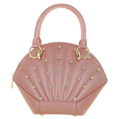 Crystal Deco Jelly Satchel