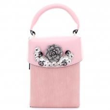 Crystal Deco Box Clutch Bag