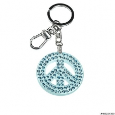Peace Sign Key Chain