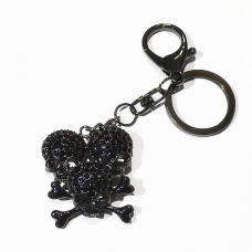 Crystal Skull Bag Charm