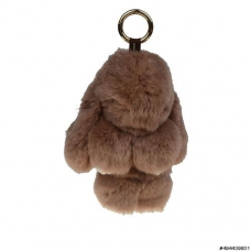 Genuine Rabbit Fur Bag Charm