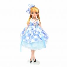Pretty Doll In Victorian Style Dress Key Chain