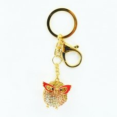 Super Chick Crystal Bag Charm