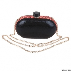 Shimmering Metallic Clutch