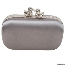 Satin Pair Duckling Clutch
