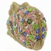 Crystal-Embellished Rabit Evening Clutch