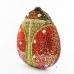 Glamorous Ladybug Crystal Clutch Bag