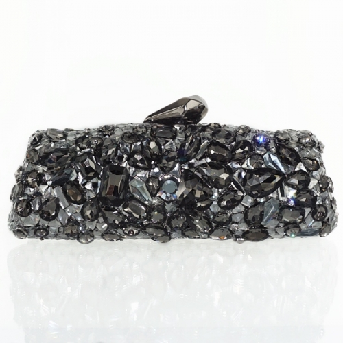 Enormous Sparkling Crystal Clutch