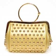 Bangle-style Studded Clutch