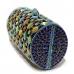 Cat Eye Crystal-Embellished Cylinder Clutch