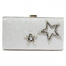 Crystal Star Glitter Clutch