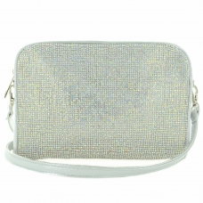 Crystal-Embellished Camera Bag