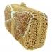 Crystal-Embellished Bow Evening Clutch