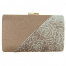Velvet Patchwork Clutch