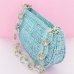 Glitter Metallic Clutch Bag