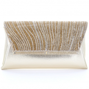 Rhinestone Envelope Clutch