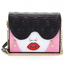 Hot Lip Fashion Crossbody Bag