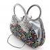 Crystal-Embellished Purse Evening Clutch