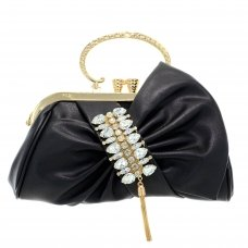 Crystal Deco Bow Clutch